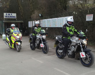 CBT motorcycle training sheffield